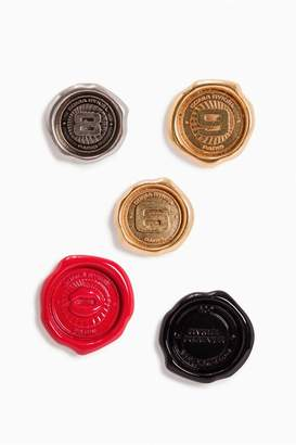 Sonia Rykiel Coin Set Of 5 Lacquered Metal Pins