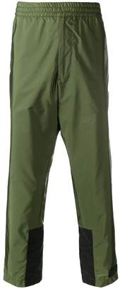 Prada technical cropped trousers