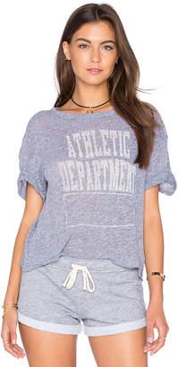 Monrow (モンロー) - ATHLETIC DEPARTMENT CREW NECK Tシャツ