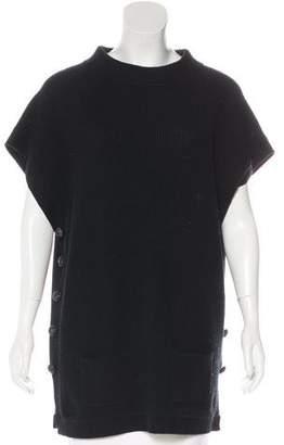 St. John Wool & Cashmere-Blend Sweater