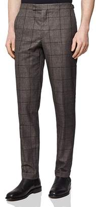 893efc09c923 Reiss Parker Checked Slim Fit Trousers