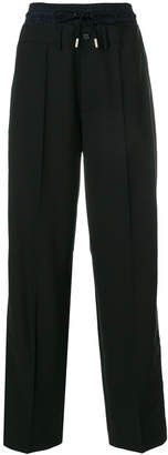 Diesel Black Gold layered look trousers