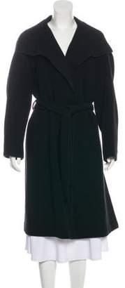 The Row Long Wool Coat