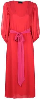 Cynthia Rowley U neck midi dress
