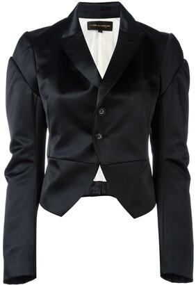 Comme des Garcons Pre-Owned satin tuxedo jacket