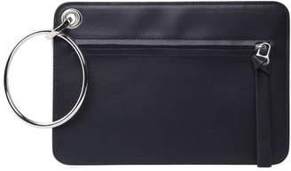 MM6 MAISON MARGIELA Double-clutch Leather Hand Bag