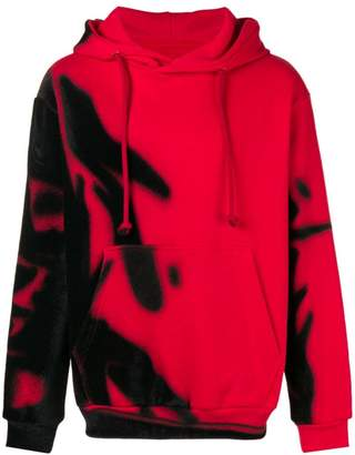 Maison Margiela spray paint hoodie