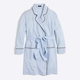 J.Crew Robe in end-on-end cotton