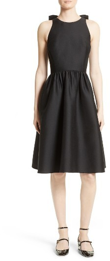 Kate Spade Women's Kate Spade New York Bow Back Fit & Flare Dress