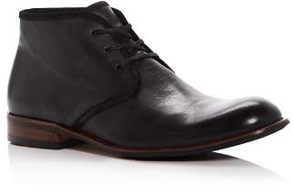 John Varvatos Men's Seagher Leather Chukka Boots