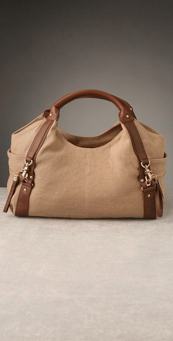 7 For All Mankind Washed Linen Satchel