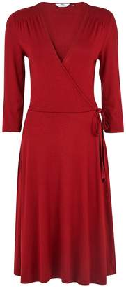 Dorothy Perkins Womens **Tall Red Wrap Dress