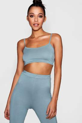 boohoo Tall Jersey Strappy Scoop Bralet