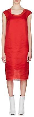 Maison Margiela Women's Layered Silk Shift Dress