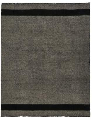 Denis Colomb Hokkaido Striped Blanket - Womens - Black Multi