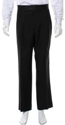 Burberry Pleated Tuxedo Pants