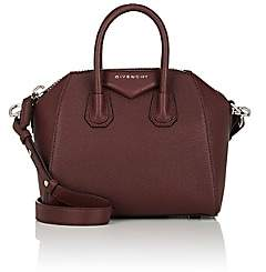 Givenchy Women's Antigona Mini Leather Duffel Bag-Oxblood