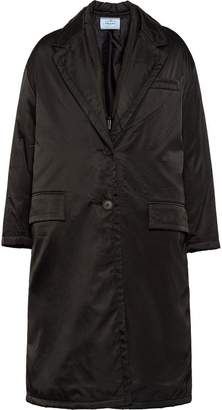 Prada Nylon gabardine coat