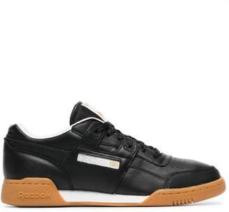 Reebok black workout plus MU sneakers