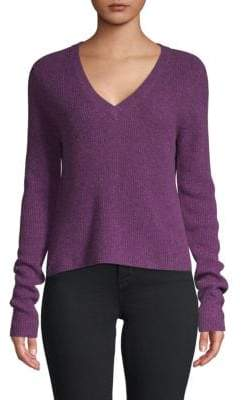 Qi Ribbed Cashmere Sweater