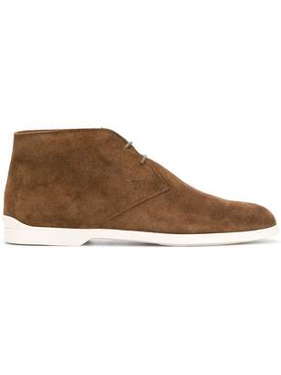 Tod's contrast sole desert boots