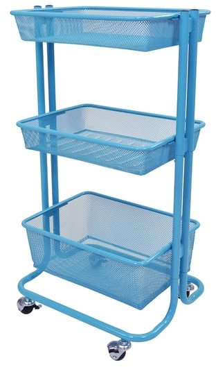Luxor Kitchen Utility Cart in Blue ShopStyle Home