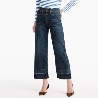Point Sur culotte jean in Blue Poppy wash $248 thestylecure.com