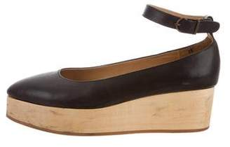 Cosmic Wonder Light Source Leather Point-Toe Wedges