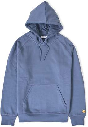 Carhartt WIP Hooded Chase Sweatshirt Blue