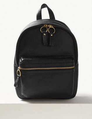 Marks and Spencer Leather Backpack Bag