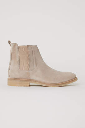 H&M Chelsea-style Boots - Beige