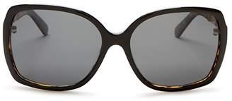 Kate Spade Darilyn Oversized Polarized Square Sunglasses, 58mm