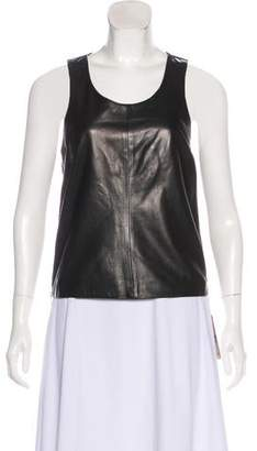 Calvin Klein Jeans Leather Biker Top w/ Tags