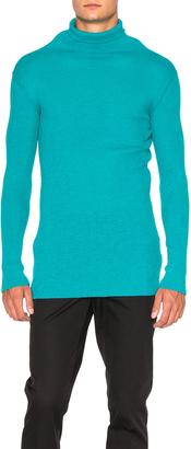 Ann Demeulemeester Knit Turtleneck Sweater $711 thestylecure.com
