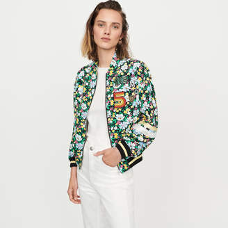 Maje Floral print jacket