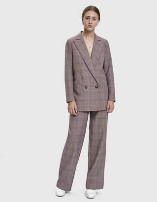 Ganni Suiting Plaid Trouser