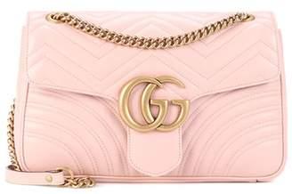 Gucci GG Marmont Medium matelassé leather shoulder bag