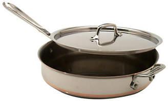 All-Clad 3 Quart Saute Pan With Lid Copper Core