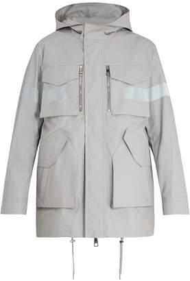 Neil Barrett Technical reflective-detail coat