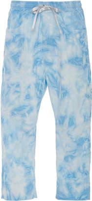 Lost Daze Cloud Dye Cotton-Blend Corduroy Pants