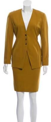 Tahari Wool Skirt Suit Set