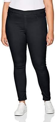 Womens Coupe Tregging Avec Fibre Lycra Taille Elastique Skinny Jeans Ober Kfx0SjobB