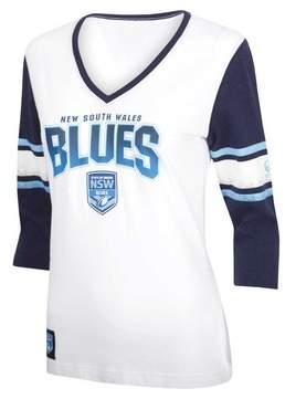 Canterbury of New Zealand NSW Blues State of Origin 2018 Women's The Blues 3/4 T-Shirt