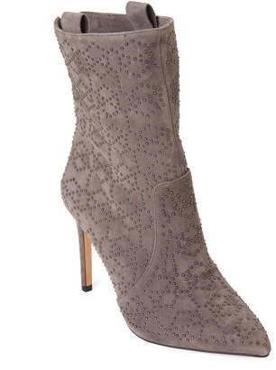 Vince Camuto Power Grey Korikanta Studded Suede Booties