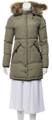 Pajar Fur-Trimmed Down Coat