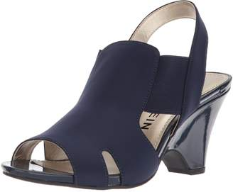 Anne Klein Women's Grand Fabric Heeled Sandal