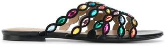 Sonia Rykiel gem strap sandals