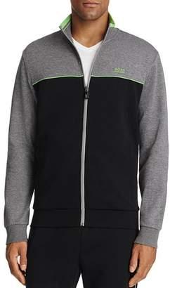 BOSS Skaz Color Block Zip Sweatshirt