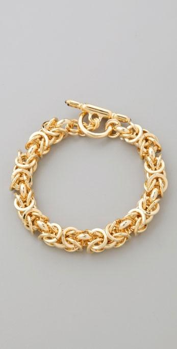 Kenneth Jay Lane Toggle Bracelet