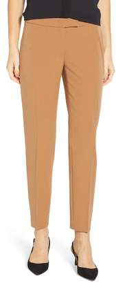 Anne Klein Bowie Stretch Crepe Slim Pants
